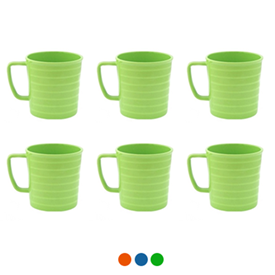 Jual Mug ONYX Centris Series 340ml 12 pcs CCB04 - Lime Green