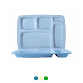 Jual Nampan Makan Petak 5 ONYX Table Ware 6pcs 5201 - Blue Saphire Stone