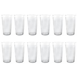 Jual Gelas Plastik ONYX Crystal Dishware 500ml 12pcs - ACG08 - Transparant