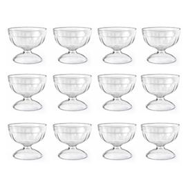Jual Gelas Plastik ONYX Crystal Dishware 12pcs - ACG07 250ml - Transparant