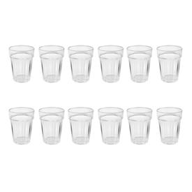 Jual Gelas Plastik ONYX Crystal Dishware 300ml 12pcs - ACG05 - Transparant